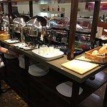 Hot Breakfast Buffet. Wonderful selection.
