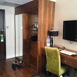 Room 106, entry way