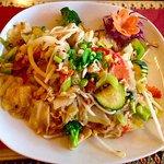 Pad Woon Sen (chicken)