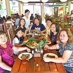 First time to try Jo's Milagrina Boodle Fight Menu with my family and auntie Chinga