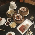 some of the dim sums and soup