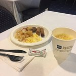 Complimentary breakfast was good.