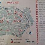 Plan de la cité historique de Sarlat.