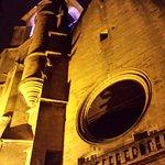 Eglise Ste Marie de nuit.