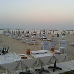 Catering in spiaggia