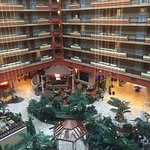 Nice hotel with a casino and Outback Steakhouse inside.