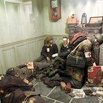Soldats allemands blesses Musee dead man corner