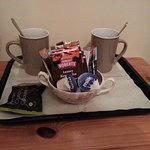 Tea station in the room :)