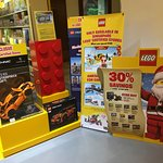 There is a lego shop near the hotel reception to keep the kids busy while registering