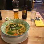 A great Noodle Thai Green Curry