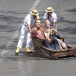 Wicker Toboggan Sled Ride