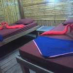 Welcome to Koh Rong and Thien Arn Guesthouse. Our guesthouse has only price 10$ a night and 10$
