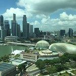 Marina bay view from my room
