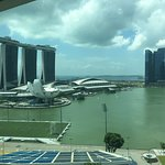 Marina bay vie from my room