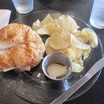 Ham and swixx on couisant