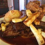 Sunday Roast - 12 Hour slow Roast Brisket of Beef with homemade yorkshire puddings, roast parsni
