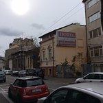 Vista desde la calle principal Bulevar Lascar Catargiu