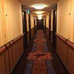 pasillo Disney's Hotel Cheyenne