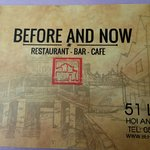Before & Now Restaurant Foto
