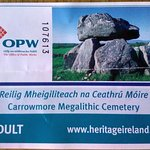 Carrowmore, Sligo. Ticket