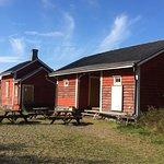 Sälgrund | The buildings on the island
