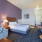 Newly Renovated, Our Whirlpool Extended Suite is cozy and more than comfortable