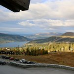 View from our room at Copperhill Mountain Lodge