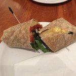 Veggie Egg Wrap