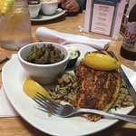 Delicious catfish and wild rice...