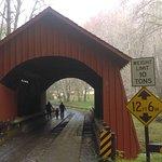 North Fork Yachats Covered Bridge Photo