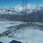 View from Glacier Paradise gondola station