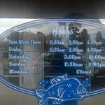 Hours For Steve's....No Changes Listed In Web Or Phone Service
