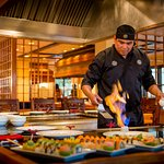 Mikado is a Japanese restaurant in Puerto Vallarta located at Marriott Puerto Vallarta Resort &
