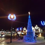 Christmas Lights in Stratford upon Avon November 2016
