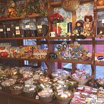 All types of candies and gifts