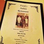 Franks Pizzeria and Italian Restaurant Foto