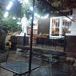 yard of cafe