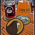 Aweome beers from Lama DOg