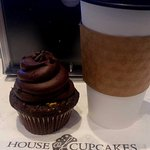 Cupcake and coffee
