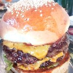 On Brother - double Wagyu beef patty!