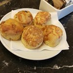 our scones - warm and fresh