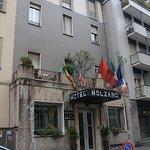 こじんまりとしたホテル。