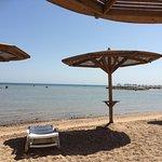 Ruhiger Platz am Strand