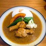 Curry and cake Kabochaya Foto