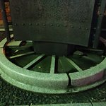 Monument of First Railroad in Japan Foto