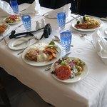 Lunch at Arabian Restaurant