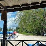 view from Tiki Bar/restaurant