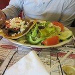 Gyro with salad