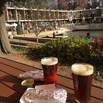 Great place to enjoy your breakfast burrito  after the Saturday farmers market! Reston Red pairs