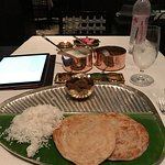 Beautifully presented and served on traditional banana leaves